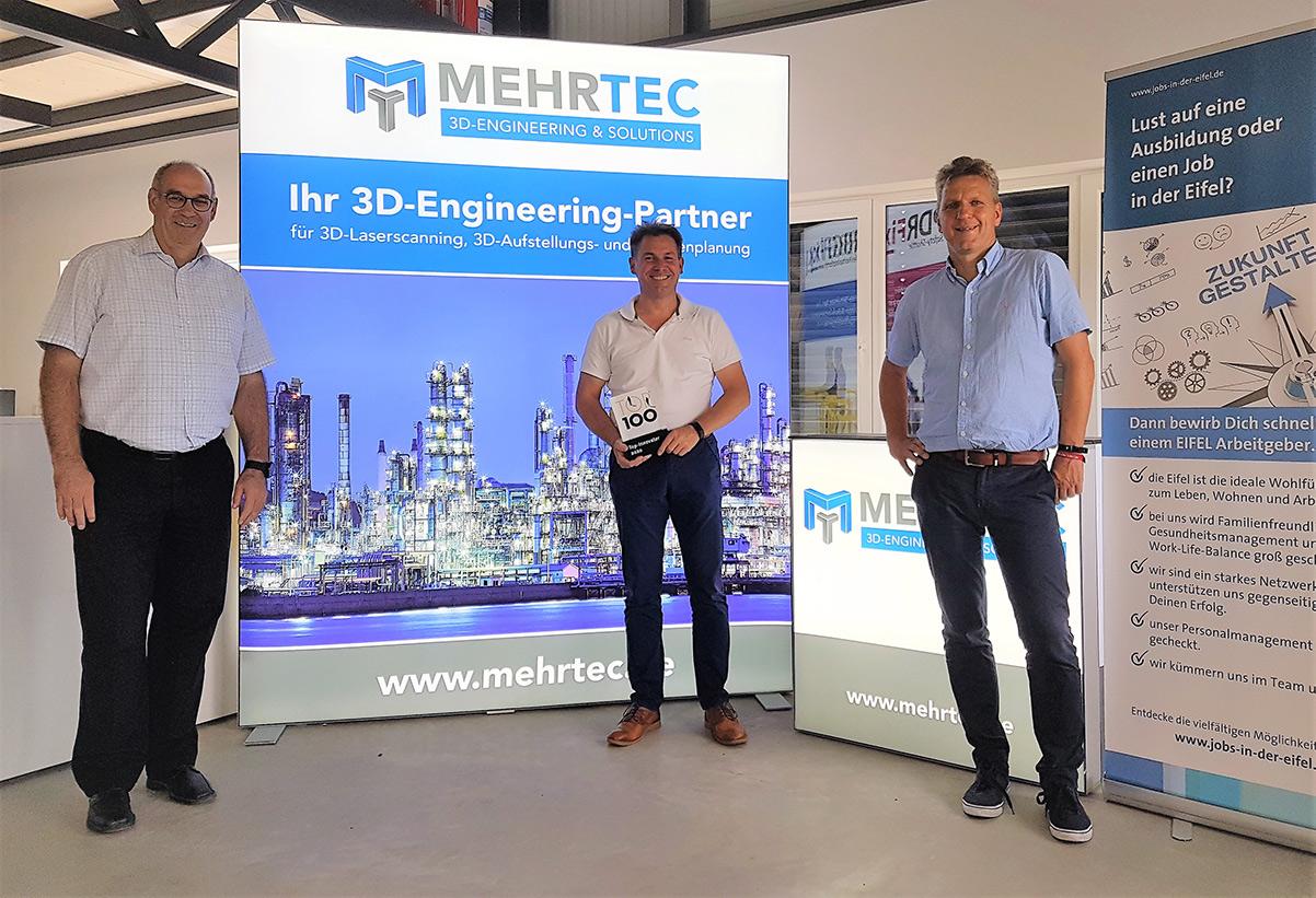 Pressefoto MehrTec - Foto: Bernhard Jüngling (Links), Udo Adriany (Mitte), Hans Peter Böffgen (Rechts)